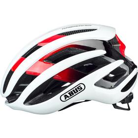 ABUS AirBreaker Casco, white/red